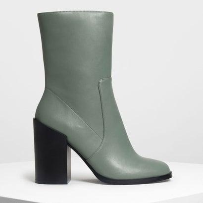 クラシック カフブーツ / Classic Calf Boots (Sage Green)