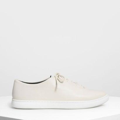 ポインテッド スニーカー / Pointed Sneakers (Cream)