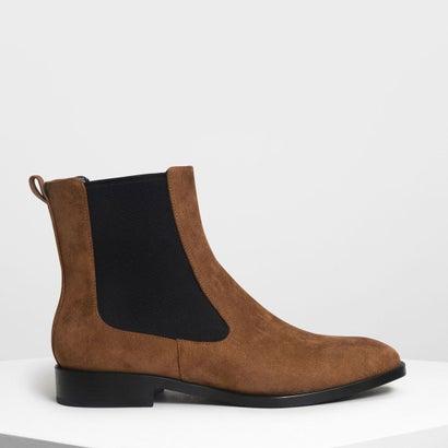 クラシック チェルシーブーツ / Classic Chelsea Boots (Cognac)