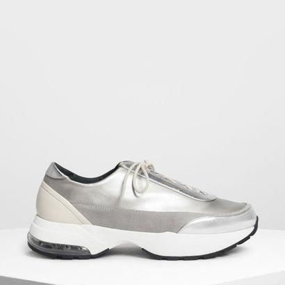 チャンキー スニーカー / Chunky Sneakers (Silver)