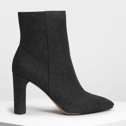 クラシック カーフブーツ / Classic Calf Boots (Black Textured)