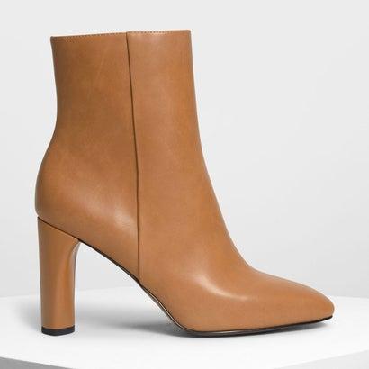 クラシック カーフブーツ / Classic Calf Boots (Cognac)