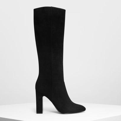 クラシック ニーブーツ / Classic Knee Boots (Black)
