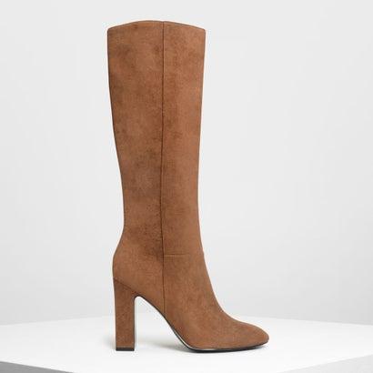 クラシック ニーブーツ / Classic Knee Boots (Cognac)
