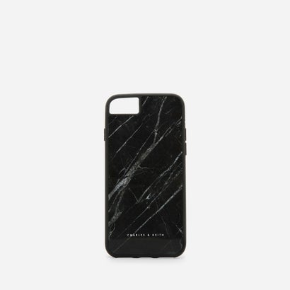 マーブルプリント IPHONEカバー / MARBLE PRINT IPHONE COVER (Black)