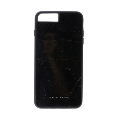 マーブルプリントIPHONEカバー / MARBLE PRINT IPHONE COVER (Black)