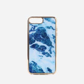 マーブル iPHONE ケース (iPHONE7 PLUS用)MARBLE iPHONE CASE iPHONE7 PLUS) (Blue)