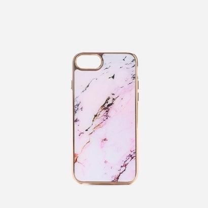 マーブルiPHONEケース(iPHONE7用) / MARBLE iPHONE CASE (iPHONE7) (Pink)