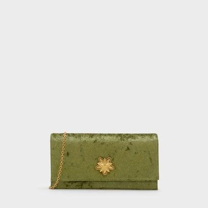 スターディテールロングウォレット / STAR DETAIL LONG WALLET (Green)