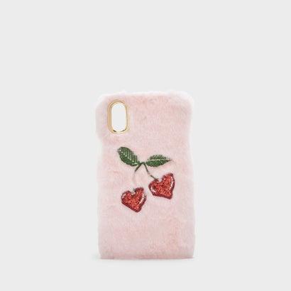 ファーリーアイフォンケース / FURRY IPHONE CASE (Pink)