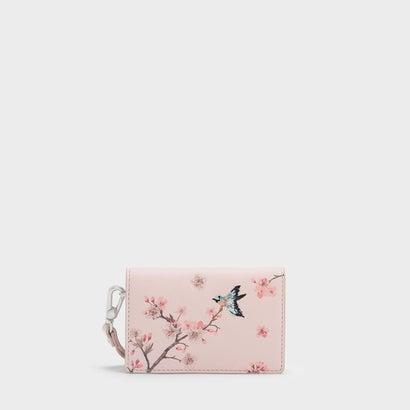 インフルブルームカードケース  / IN FULL BLOOM CARD CASE (Pink)