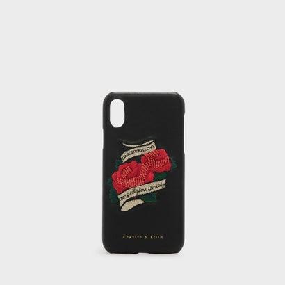 デンジャラスラブアイフォンカヴァー / DANGEROUS LOVE IPHONE COVER(iPhone X) (Black)