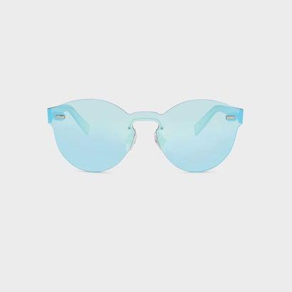 オーバルサングラス / OVAL SUNGLASSES (Blue)