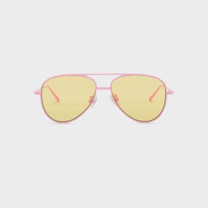 ダブルワイアードアビエイターシェイズ / DOUBLE-WIRED AVIATOR SHADES (Pink)