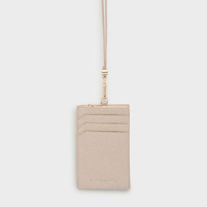 ジップカードフォルダー / ZIPPED CARD HOLDER (Rose Gold)