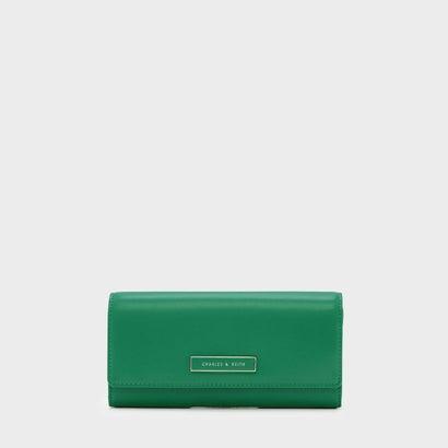 フロントフラップウォレット / FRONT FLAP WALLET (Green)