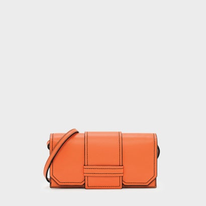 フロントフラップウォレット / FRONT FLAP WALLET (Orange)