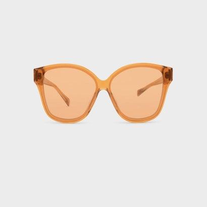 アセテートフレームサングラス / ACETATE FRAME SUNGLASSES (Orange)