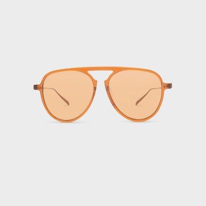アセート フレーム アビエイター / ACETATE FRAME AVIATORS (Orange)
