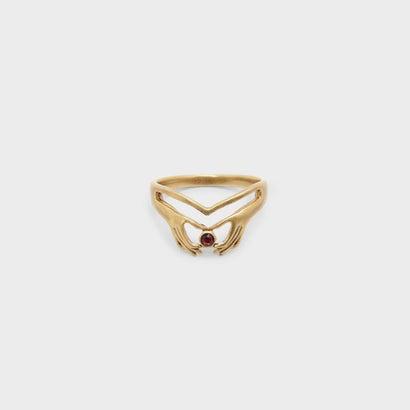 クリスタルリング / CRYSTAL RING (Bronze)