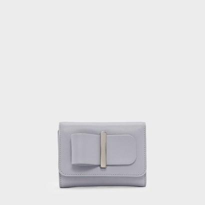 ボウディテールウォレット / BOW DETAIL WALLET (Lilac Grey)