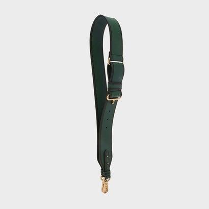 コントラスト トリミング バッグストラップ / CONTRAST TRIMMING BAG STRAP (Dark Green)