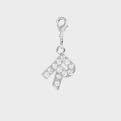 クリスタル エンベリッシュド アルファベット チャーム R / Crystal Embellished Alphabet Charm - R (