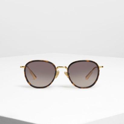 セミプレシャス ストーン サングラス / Semi-Precious Stone Sunglasses (T. Shell)