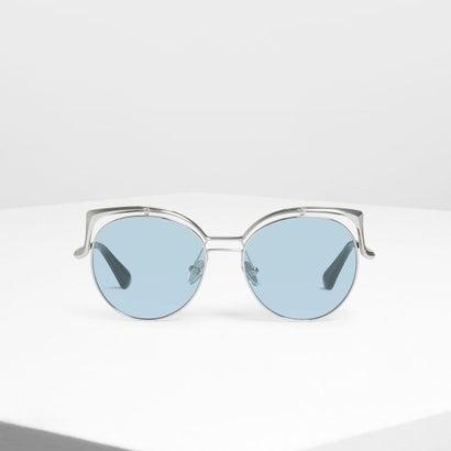 ワイヤー フレーム ラウンド シェイド / Wire Frame Round Shades (Silver)