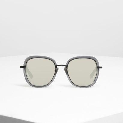 ダブル レンズ サングラス / Double Lens Sunglasses (Black)