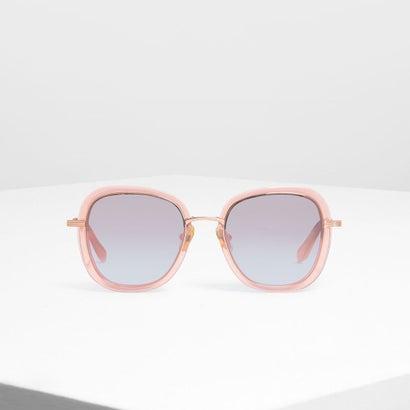 ダブル レンズ サングラス / Double Lens Sunglasses (Rose Gold)
