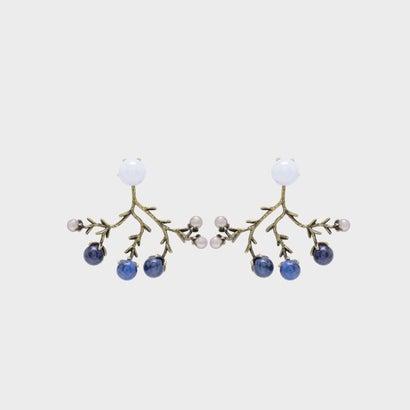 セミプレシャス ストーンピアス / Semi-Precious Stone Earrings (Blue)