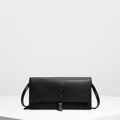 トップステッチディテール ウォレット / Topstitch Detail Wallet (Black)
