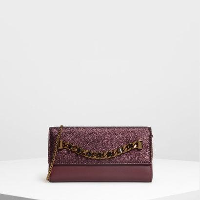 チェーンディテール ウォレット / Chain Detail Wallet (Prune)