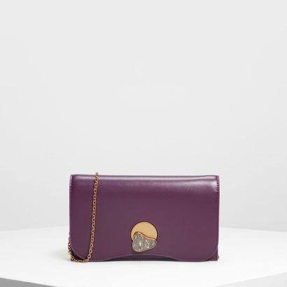 ストーンディテール ロングウォレット / Stone Detail Long Wallet (Purple)
