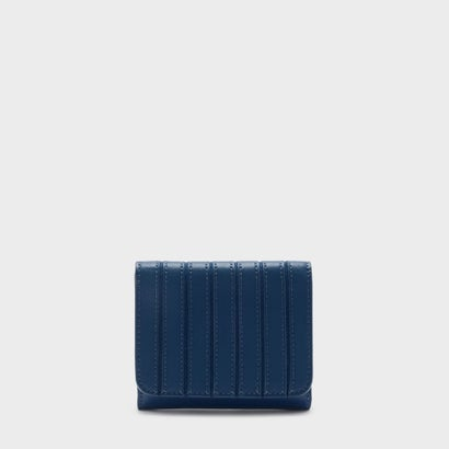 パネルデティール ショートウォレット / Panel Detail Short Wallet (Blue)