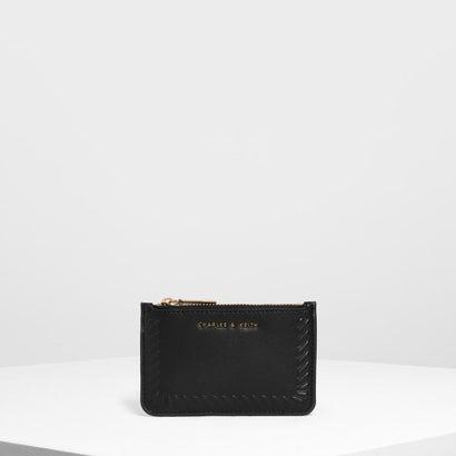 【再入荷】エンボスドリム カードホルダー / Embossed Rim Card Holder (Black)