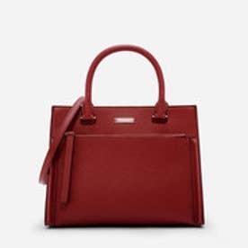 フロントジップストラクチャードバッグ / FRONT ZIP STRUCTURED BAG(Red)