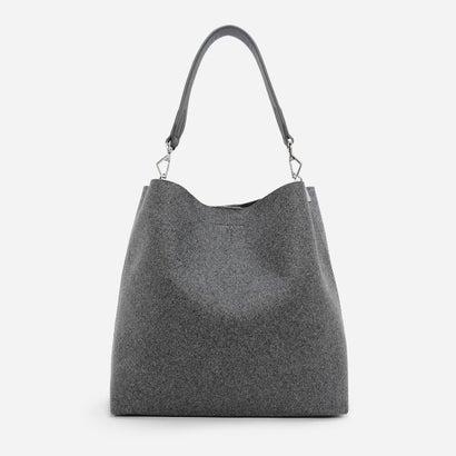 ベーシック ホーボーバッグ / BASIC HOBO BAG (Grey)