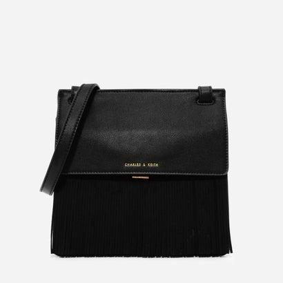フリンジスリングバッグ / FRINGE SLING BAG (Black)