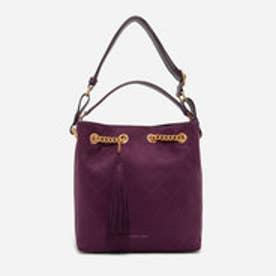 キルトホーボーバッグ / QUILTED HOBO BAG (Prune)