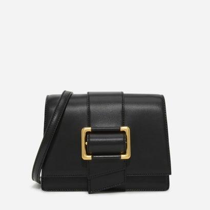 オーバーサイズバックルスリングバッグ / OVERSIZED BUCKLE SLING BAG (Black)
