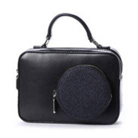 サーキュラーディテールスリングバッグ / CIRCULAR DETAIL SLING BAG (Black2)