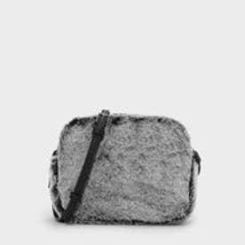 ファーリースリングバッグ / FURRY SLING BAG (Grey)