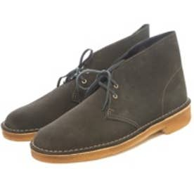 クラークス Clarks Desert Boot / メンズ デザートブーツ (ローデングリーンスエード)