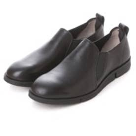 クラークス Clarks Trigen Step Black Leather (ブラック)