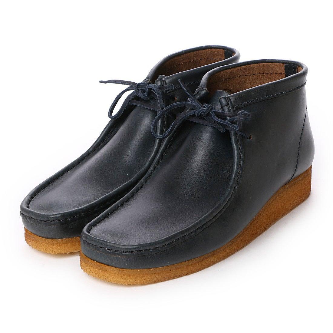 【SALE 30%OFF】クラークス Clarks Wallabee Boot / メンズ ワラビーブーツ (ブルー) メンズ