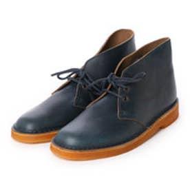 クラークス Clarks Desert Boot / メンズ デザートブーツ (ブルー)