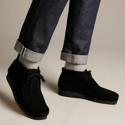 Wallabee Boot / ワラビーブーツ (ブラックスエード)
