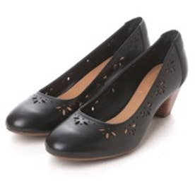 クラークス Clarks Denny Dazzle  Black Leather (ブラック)